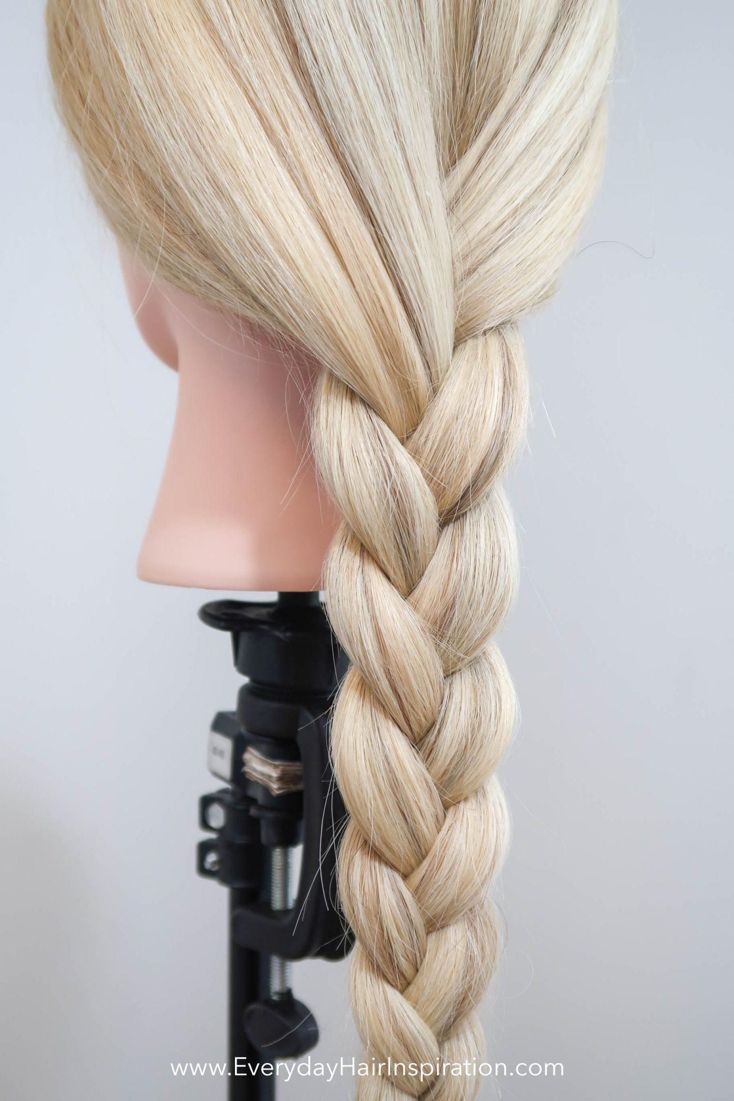 Basic 3 Strand Braid Everyday Hair Inspiration Braids