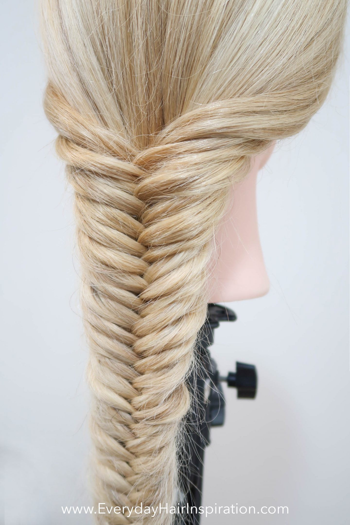 How To Fishtail Braid Everyday Hair Inspiration