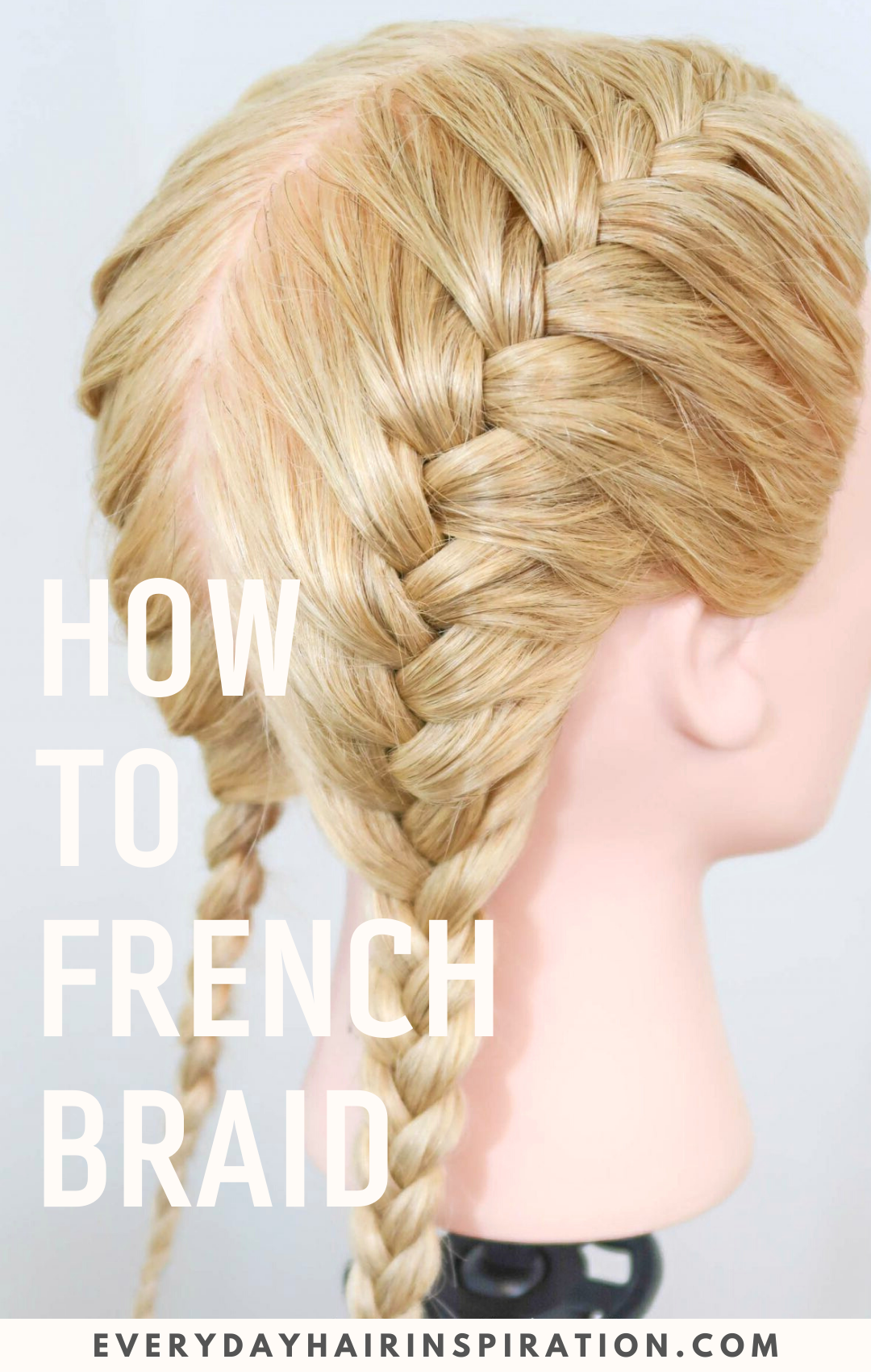 french braid for beginners
