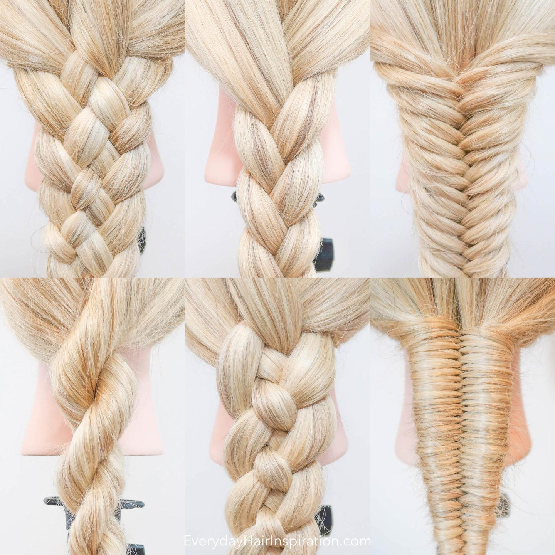 6 Basic Braids For Beginners